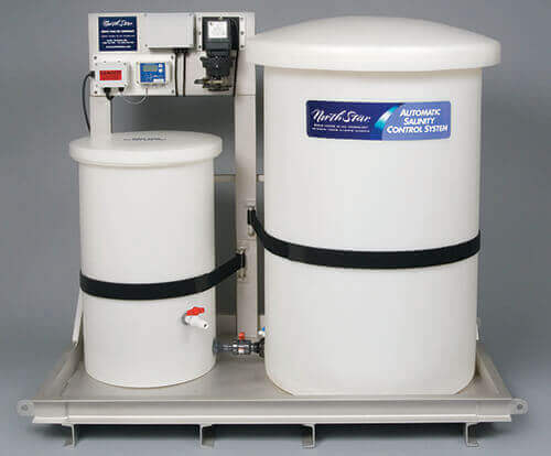 Automatic salinity control system